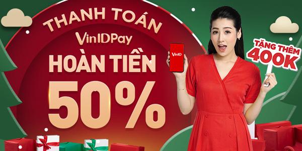 VinID Pay tung 'bão' hoàn tiền, ưu đãi tới 11 tỷ đồng