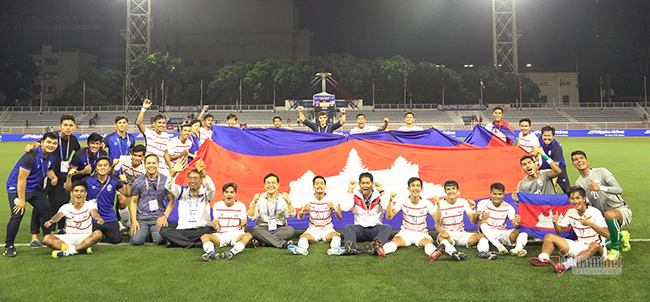 HLV Campuchia: 'Chúng tôi chờ gặp U22 Việt Nam ở bán kết'