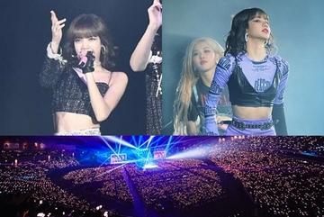Lisa lại gây sốt với màn vũ đạo 'bỏng mắt' trước 55.000 fan