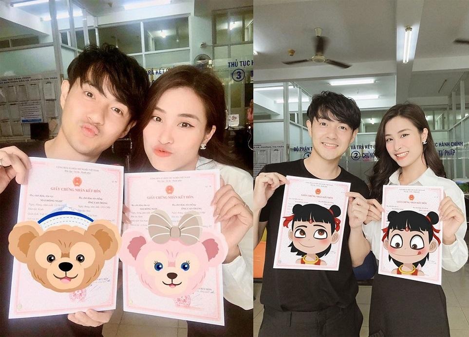 Đông Nhi, Ông Cao Thắng đăng ký kết hôn sau đám cưới 10 tỷ