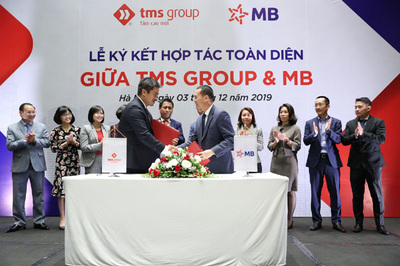 MB 'bắt tay' hợp tác toàn diện cùng TMS Group