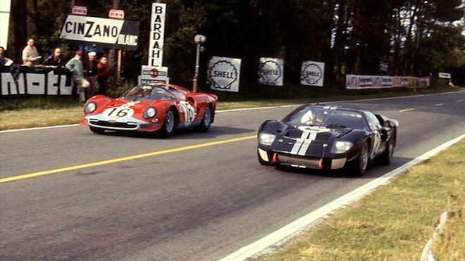 Cuộc đối đầu khốc liệt giữa 2 thương hiệu Ford và Ferrari