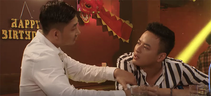 'Hoa hồng trên ngực trái' tập 36, Khang lên cơn ghen đòi đánh anh vợ tương lai