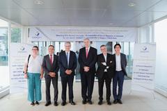 Tân đại sứ Pháp đến thăm nhà máy Sanofi