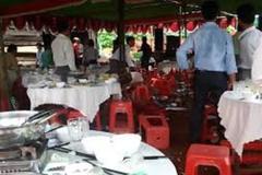 Chạy vào đám cưới ở Thanh Hóa chém nhau, 1 người bị chết
