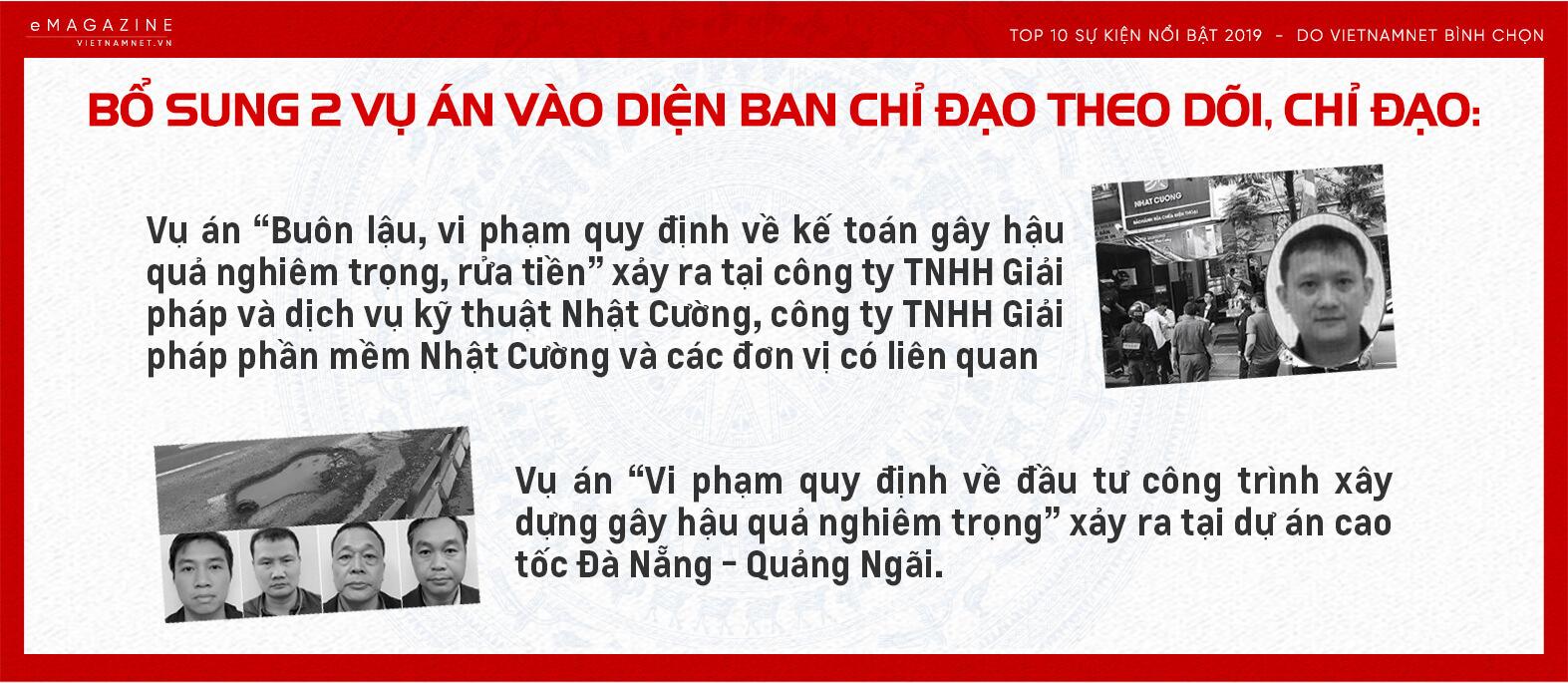 Tổng bí thư,Chủ tịch nước,Nguyễn Phú Trọng,sự kiện nổi bật 2019,chống tham nhũng