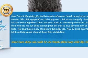 Cảnh báo sản phẩm Joint Cure lừa dối người tiêu dùng