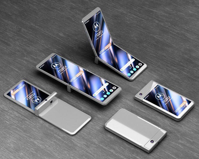 Smartphone màn hình gập Moto RAZR 2020 sẽ có thiết kế hoàn toàn mới?
