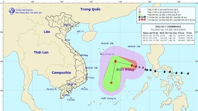 Typhoon Kammuri heads towards Vietnam after slamming Philippines