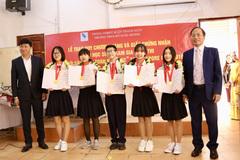 5 học sinh Việt giành Huy chương Vàng cuộc thi Đổi mới sáng tạo toàn cầu