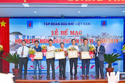 Bế mạc Hội thi tay nghề Dầu khí lần thứ VI năm 2019