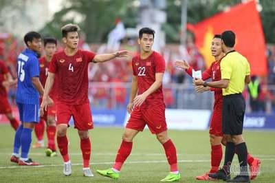 Video Tiến Linh đá 11m thành công gỡ hòa 2-2 U22 Việt Nam