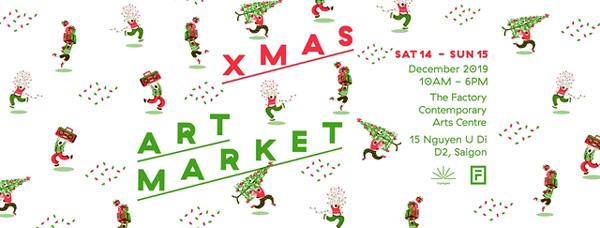 HCM City,welcome Christmas,Xmas Art Market