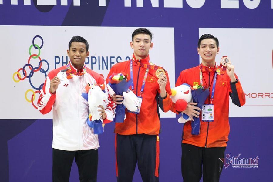 Nguyễn Huy Hoàng,Bơi SEA Games,HCV