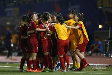 Video bàn thắng nữ Việt Nam 2-0 nữ Philippines