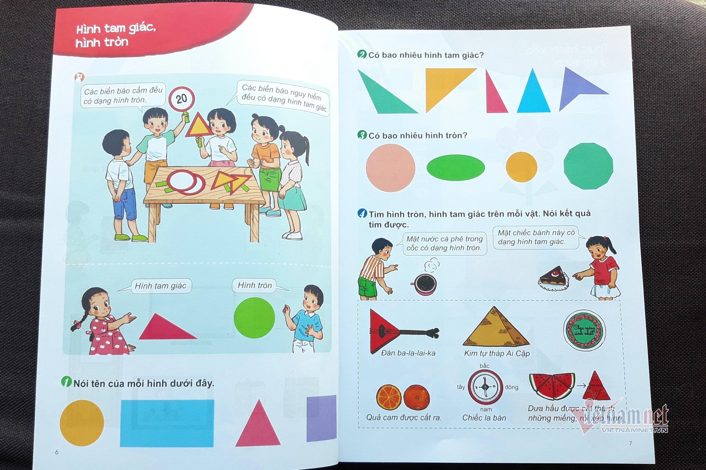Những điểm mới của sách giáo khoa môn toán lớp 1