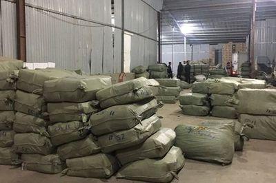 Đường dây buôn lậu hàng trăm tấn thuốc bắc nguỵ trang nông sản