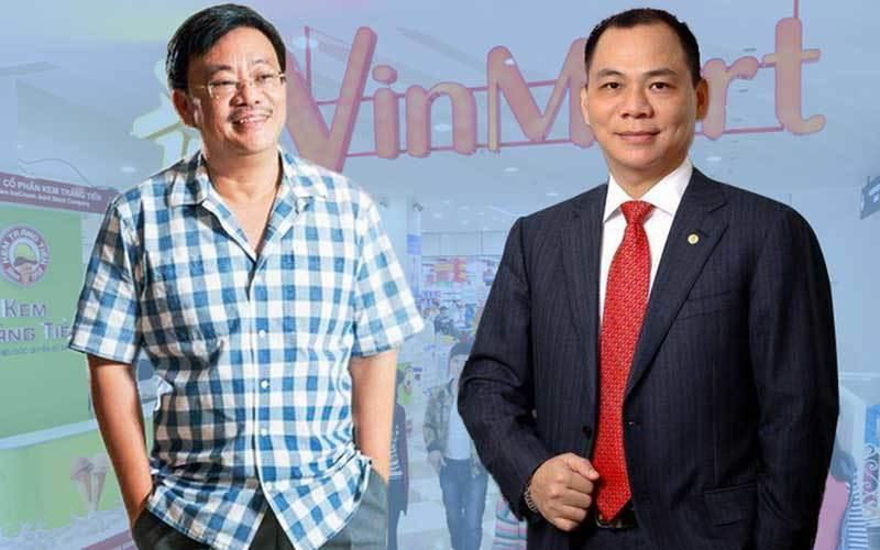 chứng khoán,bán lẻ,cổ phiếu  bán lẻ,Masan,Vingroup,Phạm Nhật Vượng,Nguyễn Đăng Quang,tỷ phú Việt