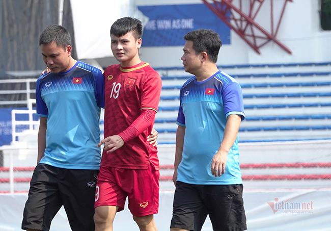U22 Việt Nam không mạo hiểm, để Quang Hải nghỉ hết SEA Games 30
