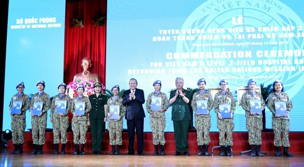 Vietnam peacekeeping force honoured