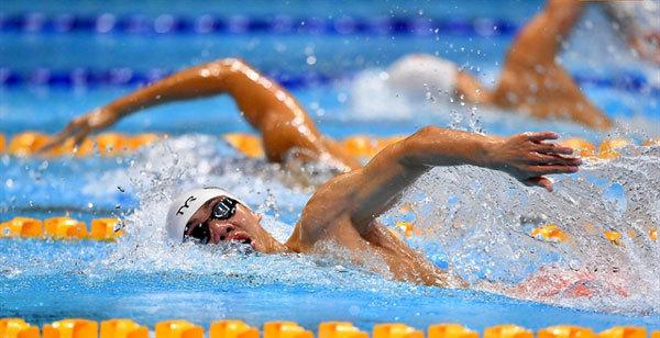 SEA Games,swimmer Nguyen Huy Hoang,fencer Nguyen Tien Nhat