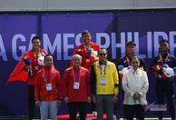 Khoảnh khằc Hoàng Nam giành HCV quần vợt lịch sử
