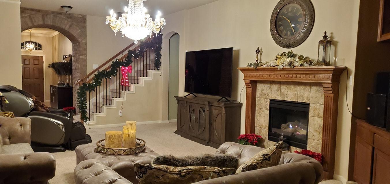 Quách Thành Danh chi 6.000 USD trang trí biệt thự tại Mỹ đón Giáng sinh