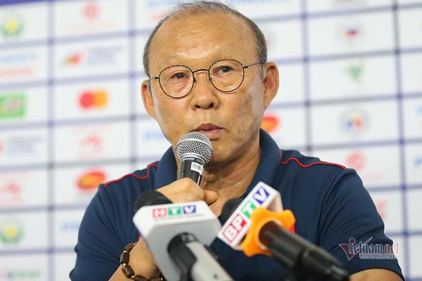 """HLV Park Hang Seo: """"U22 Việt Nam sẽ lấy vé chung kết SEA Games"""""""