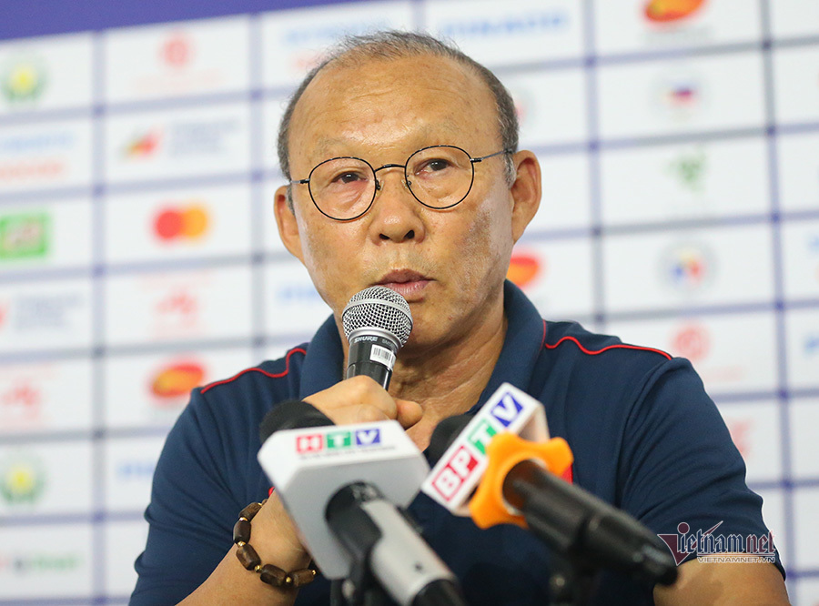 HLV Park Hang Seo: 'U22 Việt Nam sẽ lấy vé chung kết SEA Games'