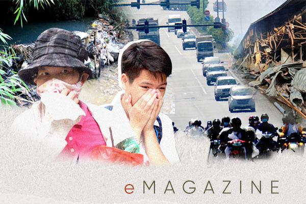 Hà Nội, TP.HCM ô nhiễm mức báo động đỏ