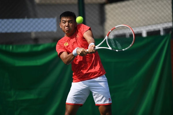 VN's top player Ly Hoang Nam wins historic SEA Games tennis gold