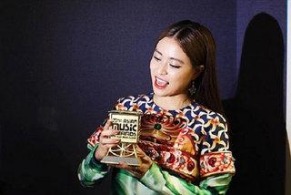 Vietnamese singer Hoang Thuy Linh wins Mnet Asian Music Awards