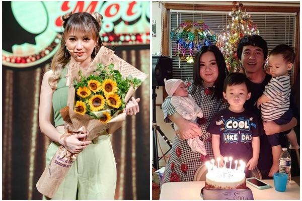 Xuân Nghi dậy thì gợi cảm, Xuân Mai thành mẹ ba con ở tuổi 23