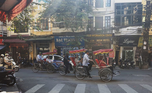 Cyclos to be banned in Hanoi