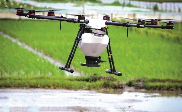 hi-tech agriculture,Loc Troi,drone,IT news