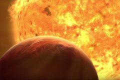 """Hình ảnh chấn động về viễn cảnh Mặt trời """"ăn thịt"""" Trái đất"""