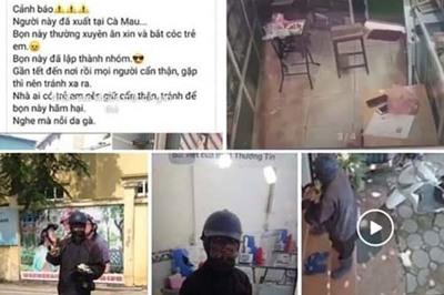 Cô gái bịa tin nhóm mặt đen bắt cóc trẻ em ở Cà Mau bị triệu tập