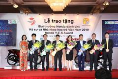 Kỹ sư, nhà khoa học trẻ Việt Nam nhận giải thưởng Honda Y-E-S 2019