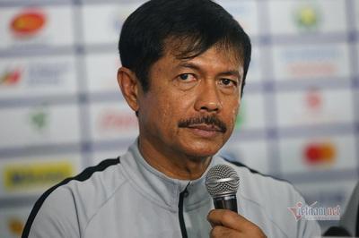 """HLV Indonesia: """"Mong U22 Việt Nam may mắn để vào chung kết"""""""