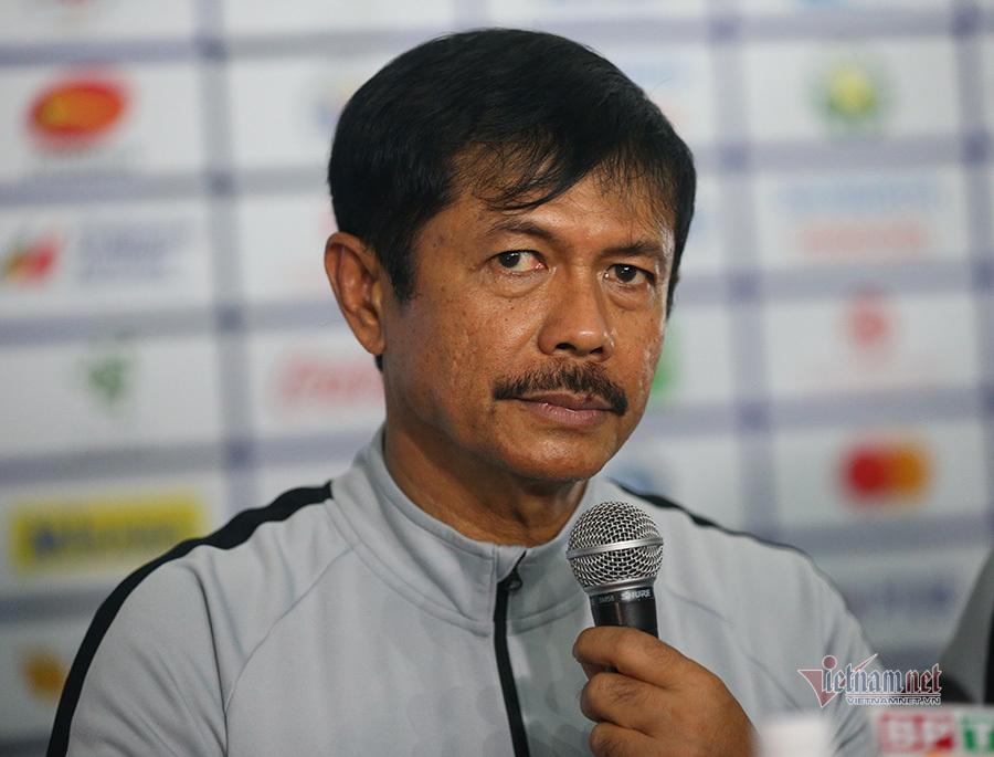 HLV Indonesia: 'Mong U22 Việt Nam may mắn để vào chung kết'