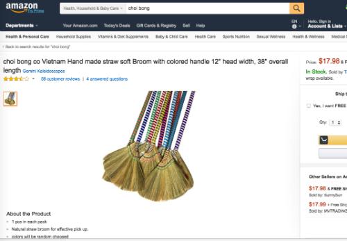 Từ làng ra chợ toàn cầu, chổi đót, nón lá... hot trên Amazon