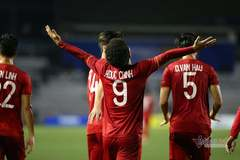 Video Đức Chinh nâng tỷ số lên 2-0 cho U22 Việt Nam