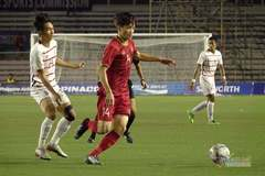 U22 Việt Nam 1-0 U22 Campuchia: Tiến Linh mở tỷ số (H1)
