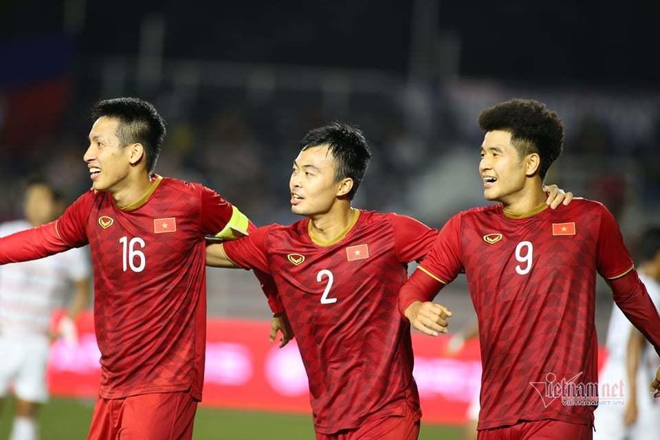 Thắng đậm Campuchia, U22 Việt Nam tái đấu Indonesia ở chung kết