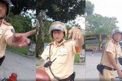 Làm rõ cảnh sát giao thông TP.HCM chửi tục khi bị tài xế phản ứng
