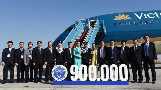 900,000 safe flights handled in 2019