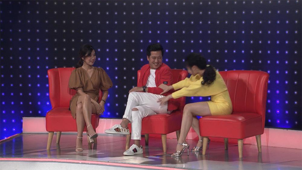 Trường Giang bất ngờ tiết lộ danh tính của người yêu con gái Lê Giang