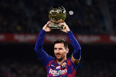 """Messi """"rửa bóng Vàng"""", Barca hủy diệt Mallorca"""