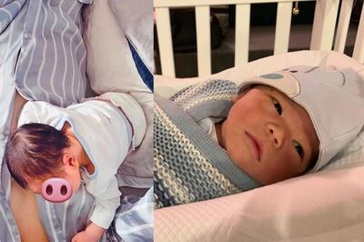 Cận mặt quý tử mới sinh của Lan Khuê và chồng thiếu gia