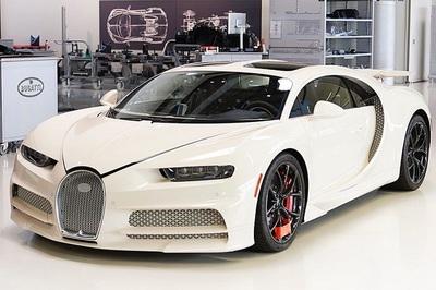 Kết hợp với Hermes, Bugatti ra mắt chiếc Chiron độc nhất thế giới